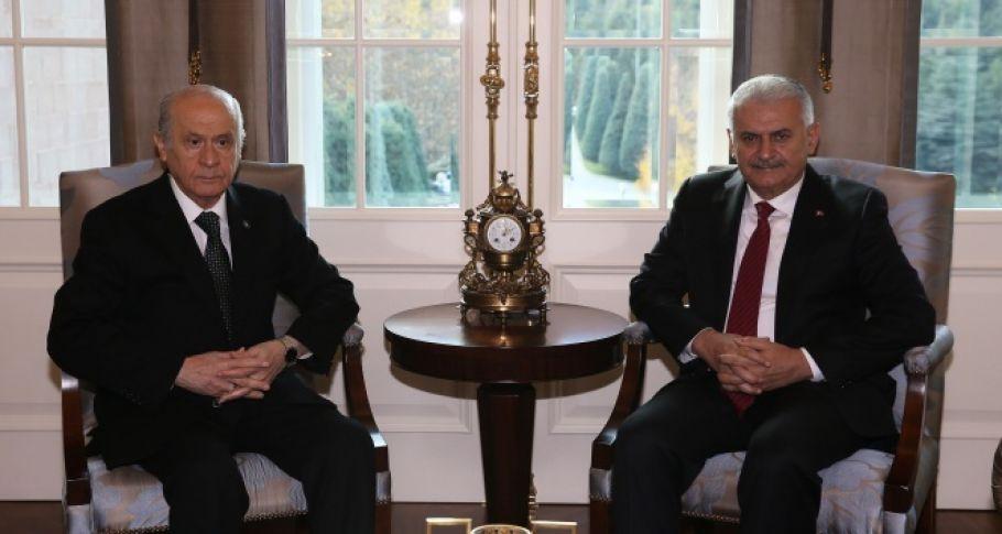 MHP lideri Bahçeli, Binali Yıldırım'ı ziyaret edecek