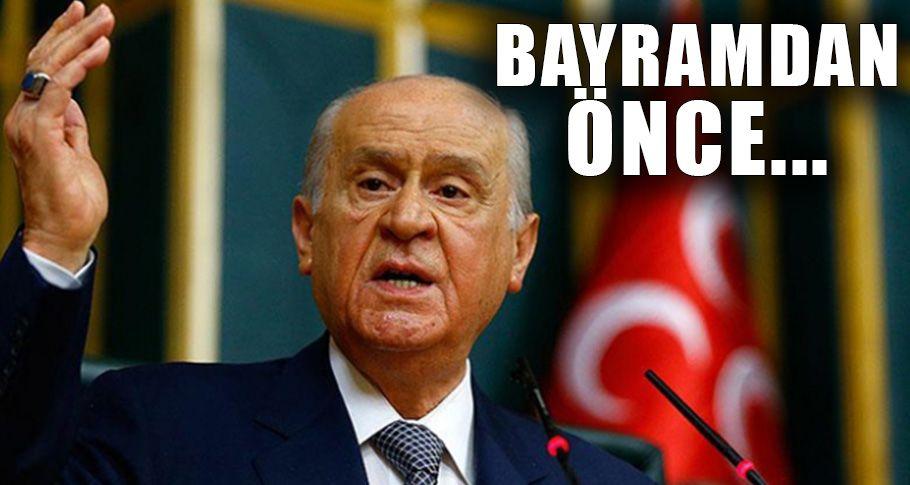 MHP Lideri Bahçeli'den yeni af çıkışı!