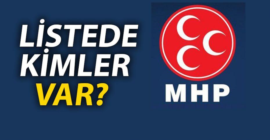 MHP Şanlıurfa Milletvekili Aday Adayı listesi açıklandı!