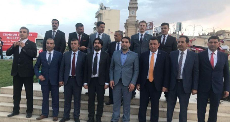 MHP Şanlıurfa Milletvekili Adayları tanıtıldı