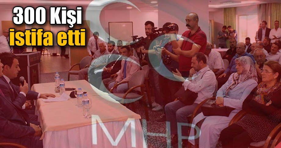 MHP'de dev istifa dalgası!