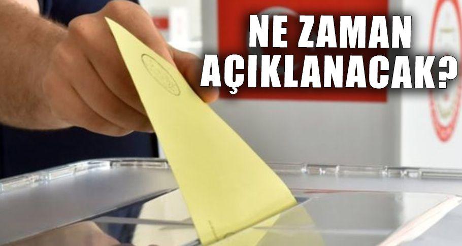 Milletvekili Adayları Listesi heyecanı hat safhada!