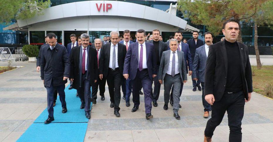 Milletvekili Faruk Çelik Şanlıurfa'da