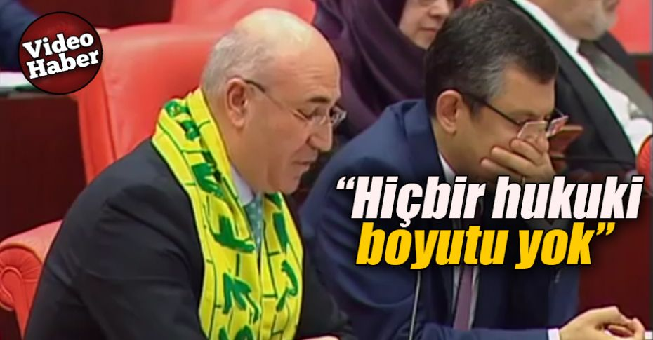 Milletvekili Tanal, Şanlıurfaspor'u TBMM gündemine taşıdı