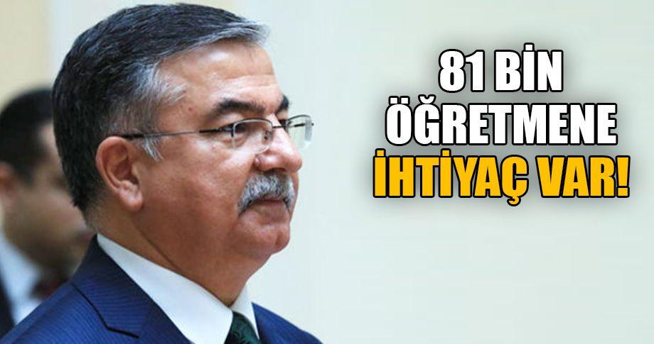 Milli Eğitim Bakanı Yılmaz açıkladı!