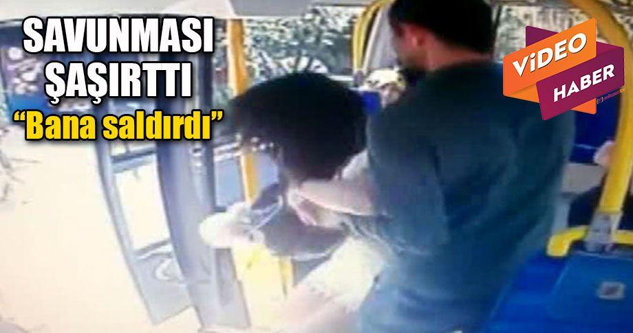 Minibüste, şortlu kıza saldırı