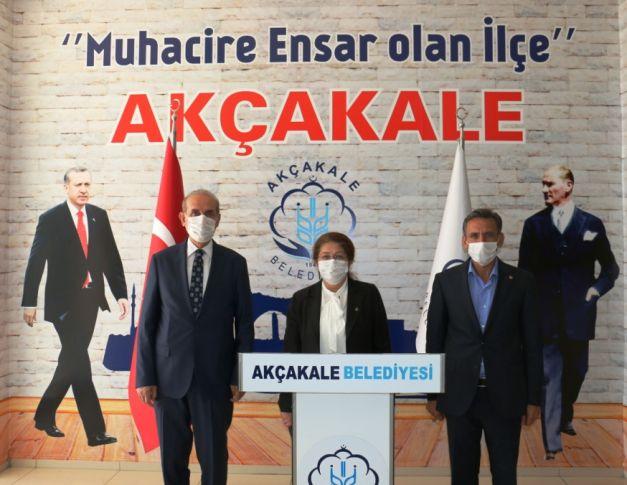 MKYK üyesi Polat, Akçakale'yi ziyaret etti