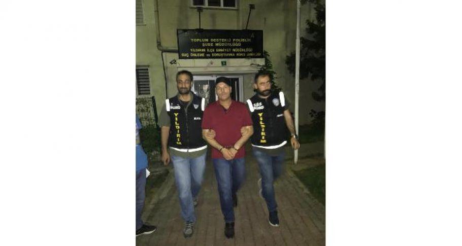 Muş'ta cinayet işledi 8 yıl sonra Bursa'da yakalandı