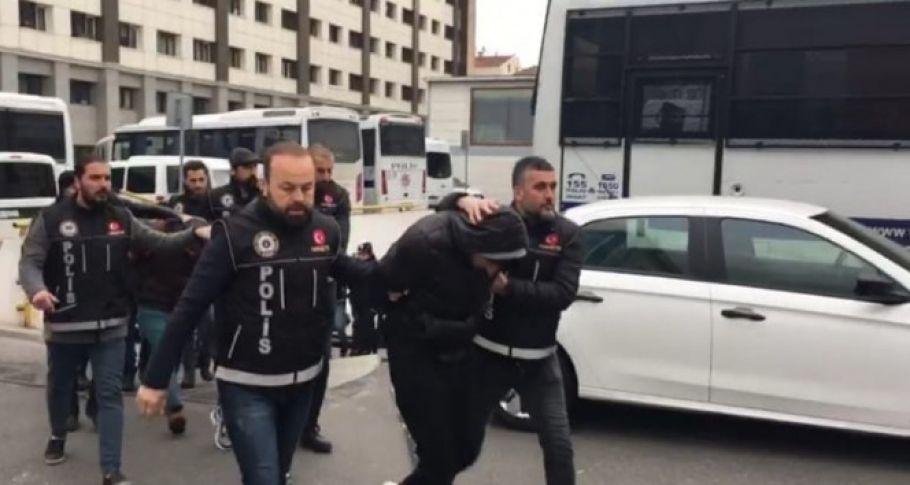 Narkotik operasyonunda gözaltına alınan 58 şüpheli tutuklandı