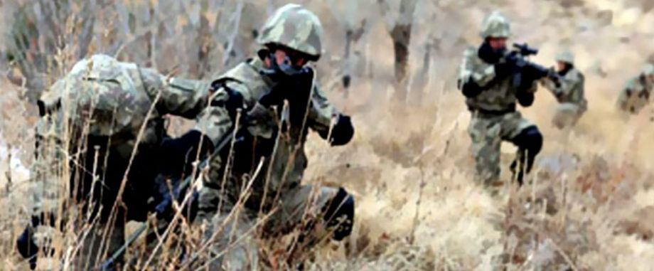 Nurhak'ta çatışma: 3 terörist öldürüldü
