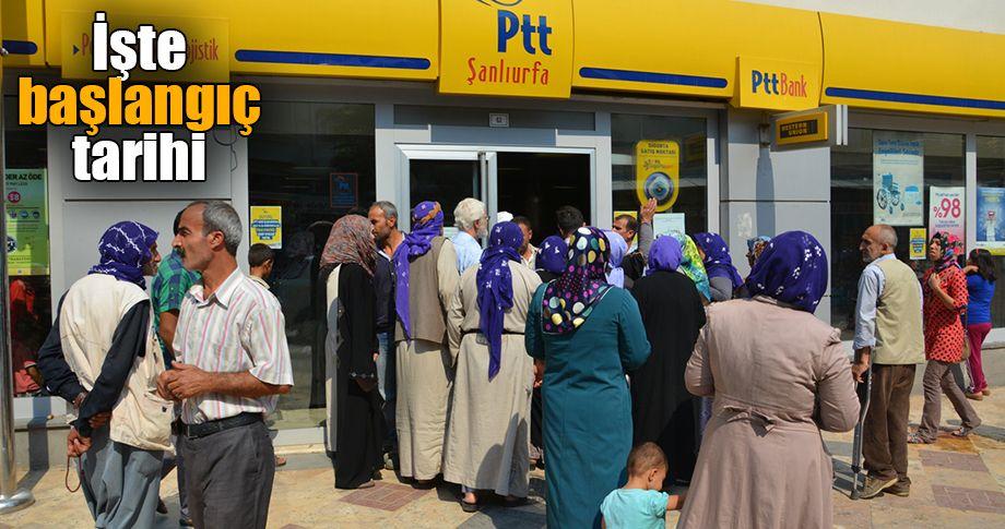 O ödemeler artık PTT'den yapılacak!