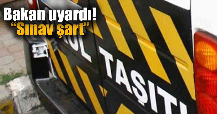 Öğrenci servisi sürücüleri bu habere dikkat!