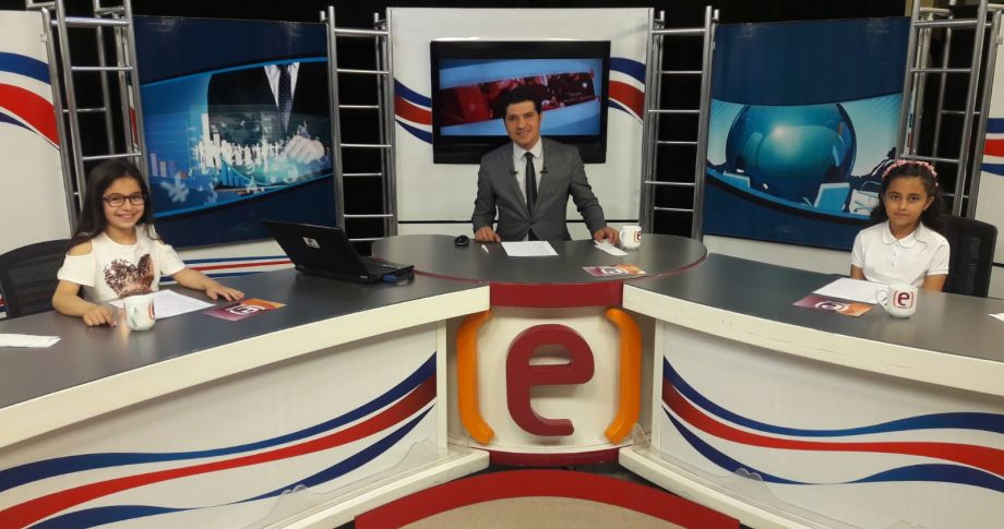 Öğrenciler Edessa Tv'de spiker oldu