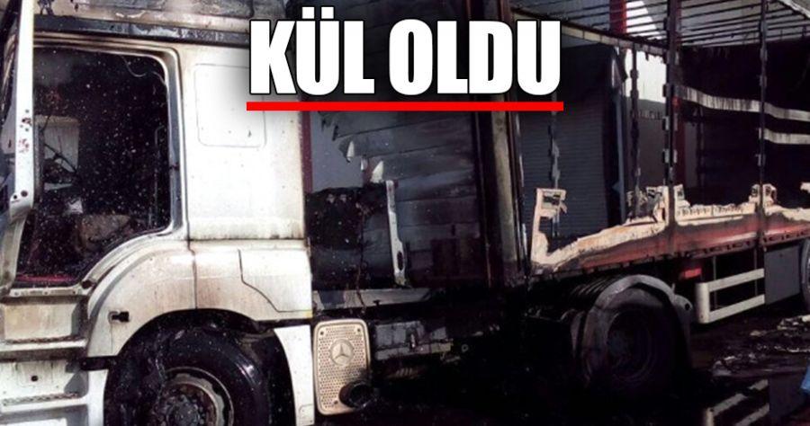 Organize Sanayi Bölgesi'nde yangın