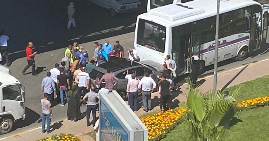 Şanlıurfa'da kalp krizi geçiren sürücü otobüse çarptı!