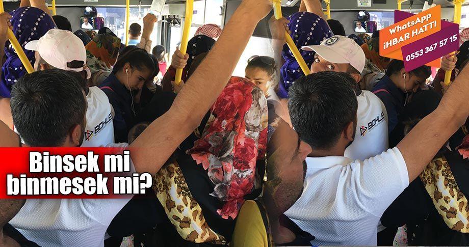 Otobüsle yolculuk işkenceye dönüştü