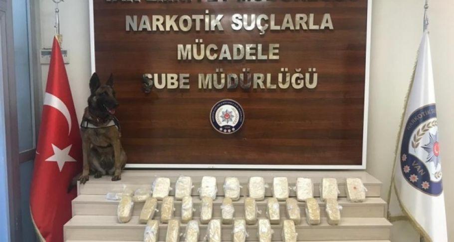 Oyuncak kolilerin içerisinde 285 kilo eroin ele geçirildi