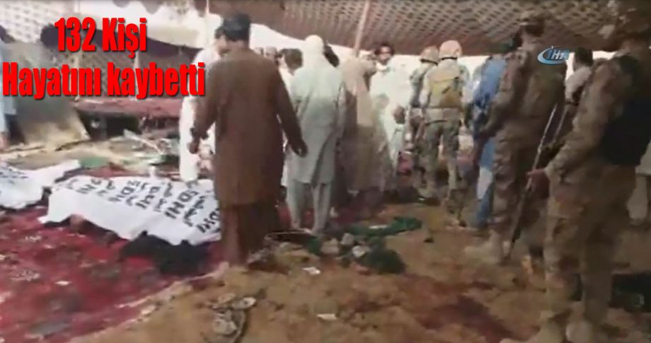 Pakistan'da seçim mitingine intihar saldırısında 132 kişi öldü