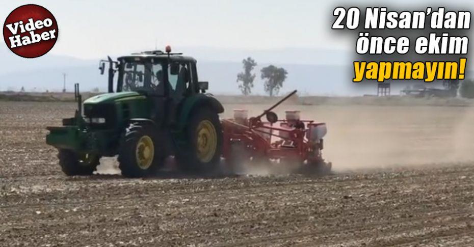 Pamuk ekimi yapacak çiftçilere önemli uyarılar!