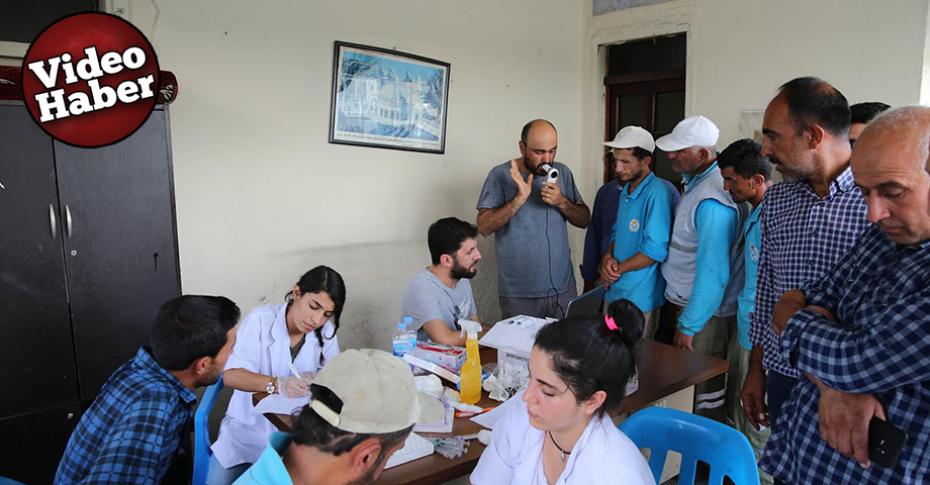 Personele Sağlık taraması ve ilk yardım eğitimi