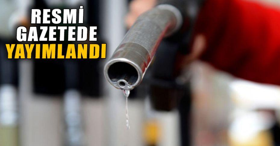 Petrol fiyatlarına düzenleme getirildi!