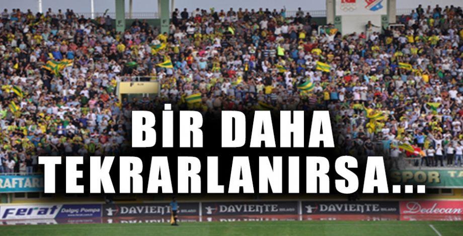 PFDK'dan Şanlıurfaspor'a ihtar!
