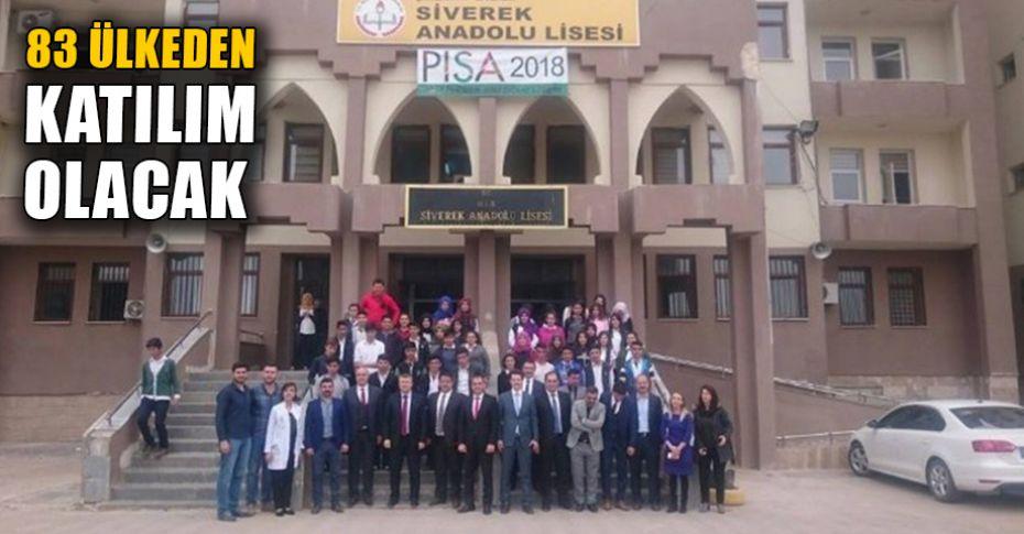 PISA'da Türkiye'yi Siverek'ten 4 okul temsil edecek