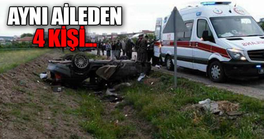 Polatlı'da feci kaza!