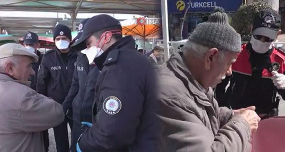 Polis ekipleri yurt genelinde 65 yaş üstü nöbetinde(VİDEOLU)