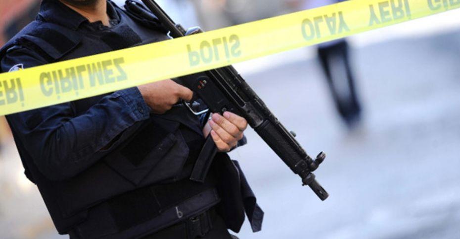 Polis kontrol noktasına patlayıcı atıldı!