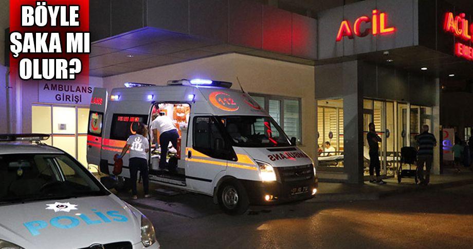 Polis memuru 'şaka kurşunu' kurbanı