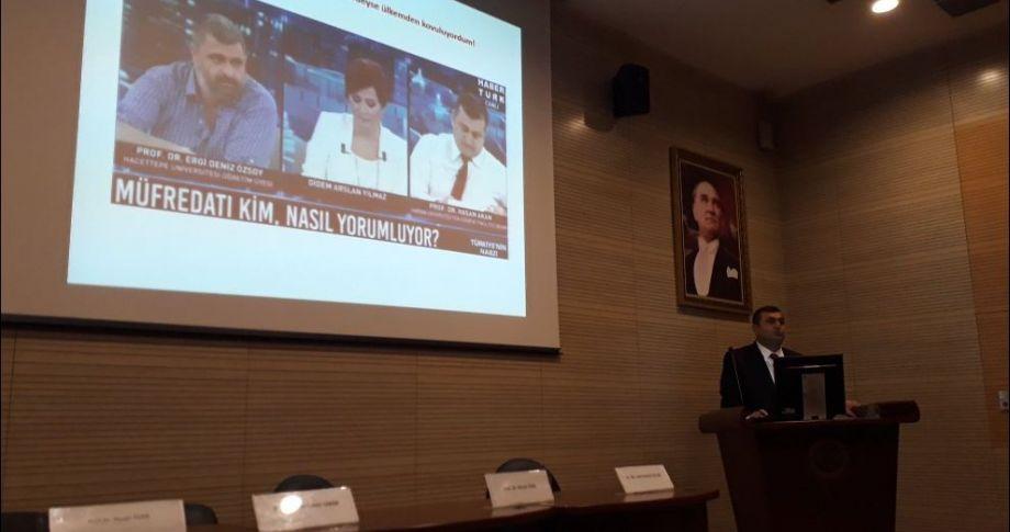Prof. Dr. Akan Erzurum'da 'Yaradılış' kongresine katıldı