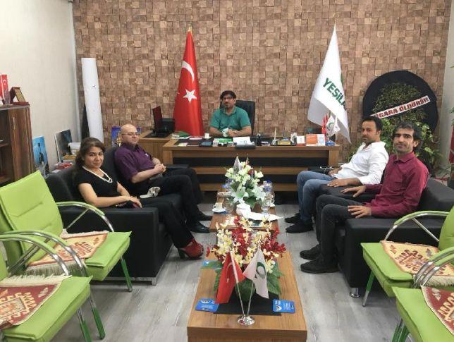Prof. Dr. Recep Çiğdem Şanlıurfa Yeşilay Şubesini Ziyaret etti