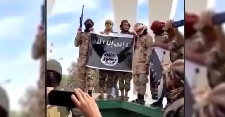 Resulayn'da IŞİD bayrağı açılmasıyla ilgili Valilik'ten açıklama!