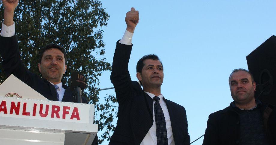 Saadet Partisi Eyyübiye adayı Yiğit,vatandaşlara seslendi(videolu)