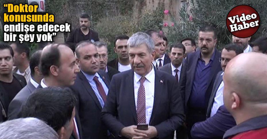 Sağlık Bakanı Demircan, Urfa'da Hastane binalarını inceledi