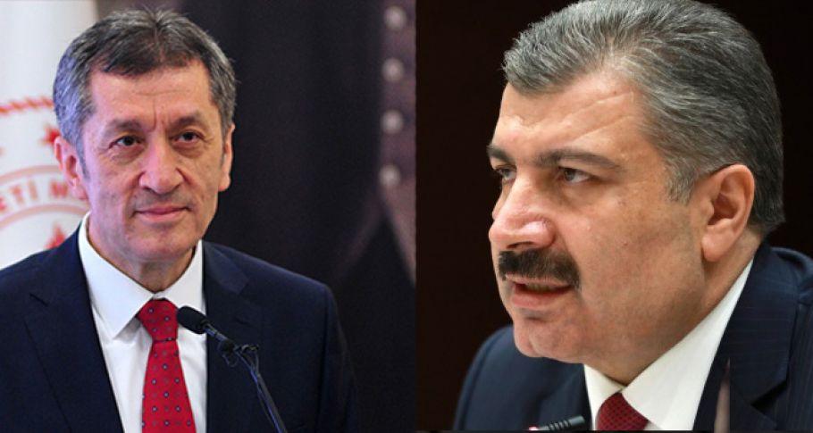Sağlık Bakanı Koca ve Millî Eğitim Bakanı Selçuk ortak basın açıklaması yapacak!