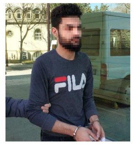 Sahte Suriye kimliğiyle yakalanan Iraklı şüpheli adliyede