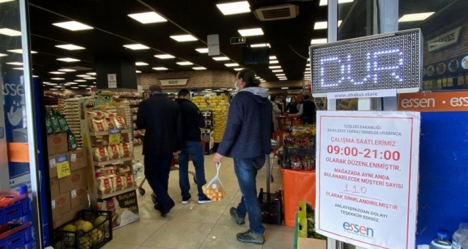 Salgın sürecinde marketler için yeni bir devir açacak cihaz ürettiler