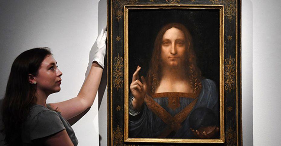 Salvator Mundi tablosu müzayedeye çıkıyor