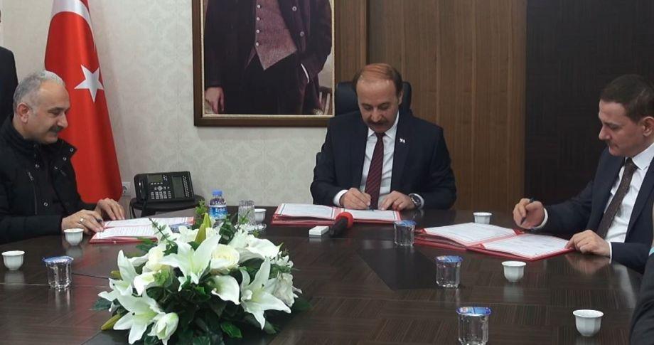 Sanayi yatırımı için protokol imzalandı