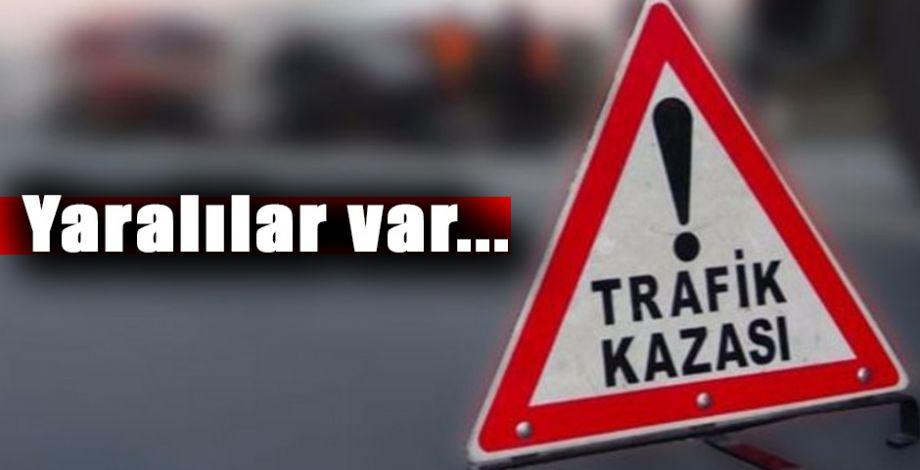 Şanlıufa - Gaziantep yolunda trafik kazası!
