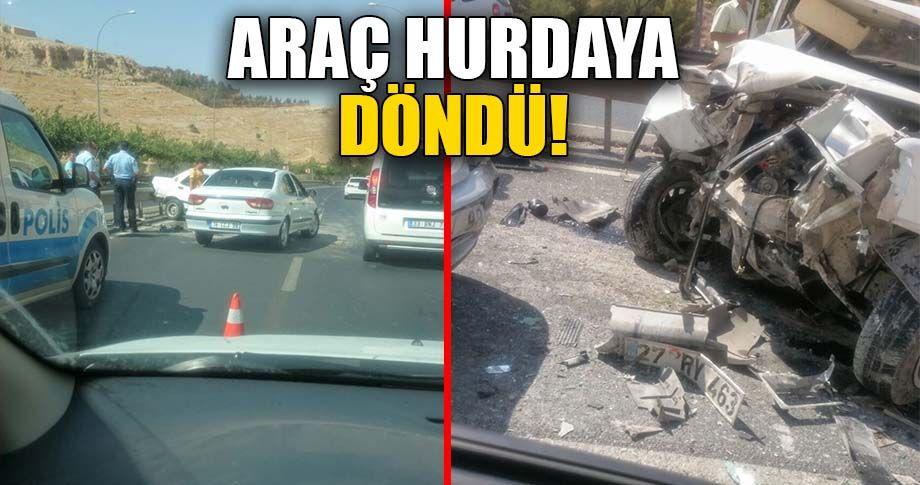 Şanlıurfa Akabe yolunda trafik kazası!