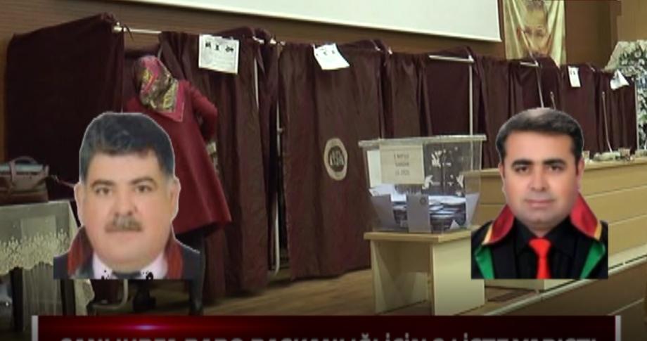 Şanlıurfa Baro Başkanlığı Seçimleri Açıklandı..
