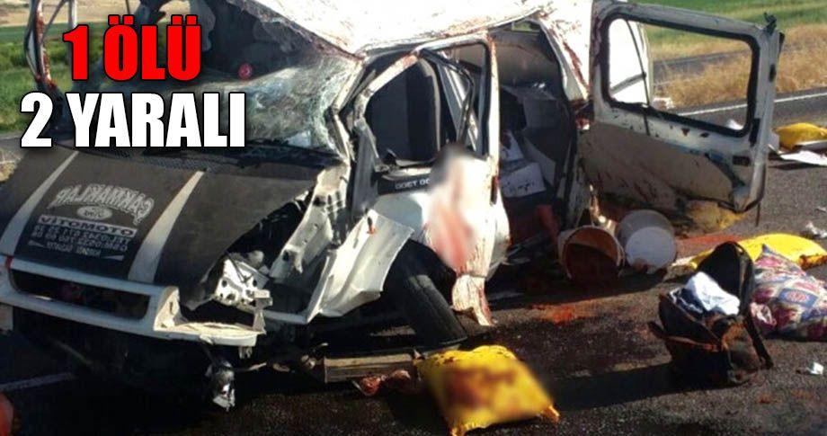 Şanlıurfa Bozova yolunda trafik kazası!