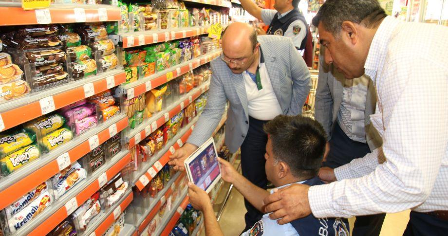 Şanlıurfa büyükşehir belediye zabıta ekipleri 7/24 denetimlerini sürdürüyor