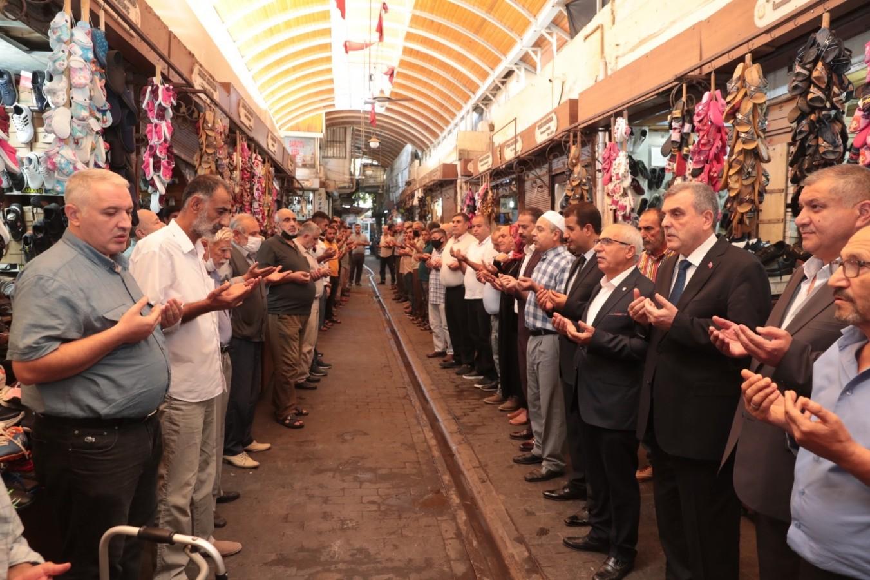 Şanlıurfa'da Ahilik Haftası esnaf duasıyla başladı