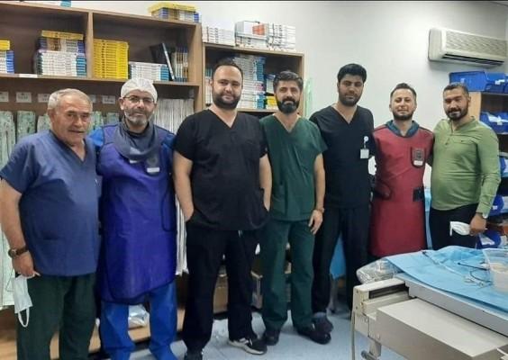 Şanlıurfa'da kalp deliği ameliyatsız kapatıldı!