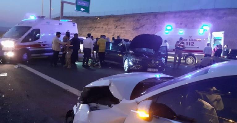 Şanlıurfa'da kaza! 13 yaralı