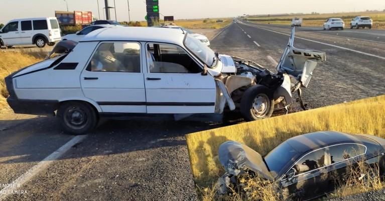 Şanlıurfa'da kaza! Çarpıştılar